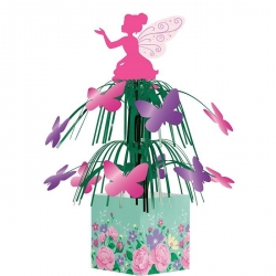 Floral Fairy Sparkle Party Table Centrepiece