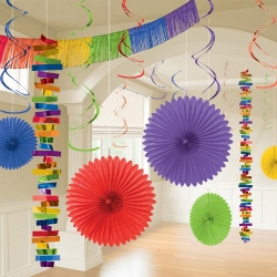Rainbow Room Party Decoration Kit
