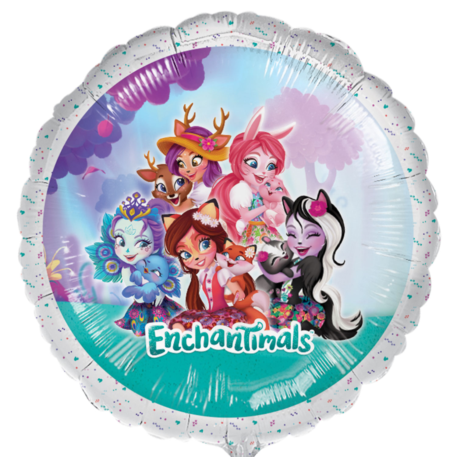 Enchantimals Happy Birthday Party Banner