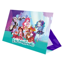 Enchantimals Party Invitations