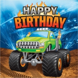 Monster Truck Rally Party HB Napkins