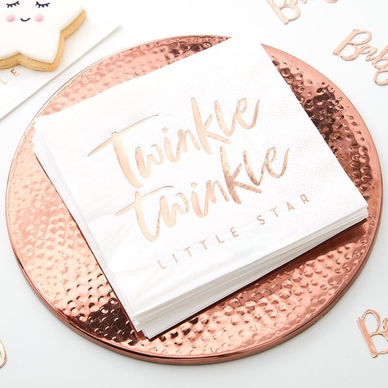 Ginger Ray Twinkle Twinkle Party Napkins