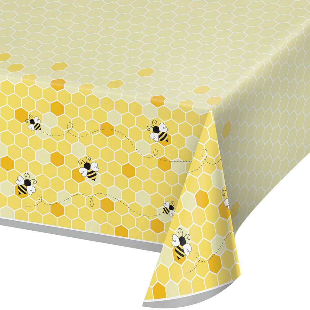 Bumble Bee Baby Party Tablecovers