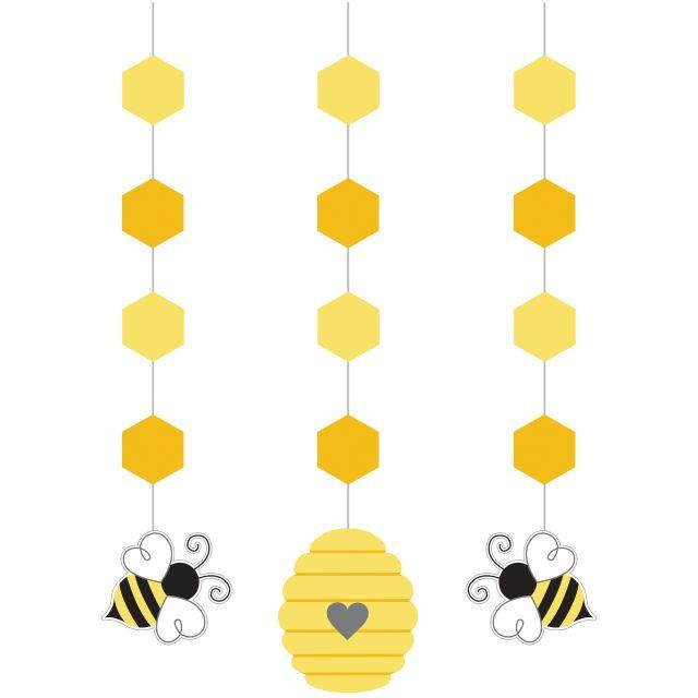 Bumble Bee Baby Party Danglers Decorations