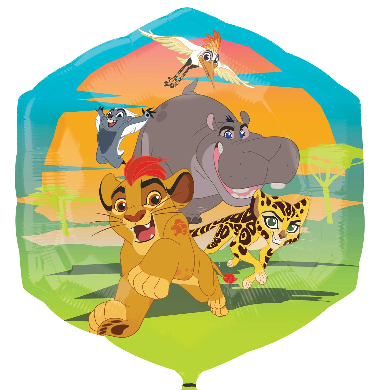 Lion King SuperShape Foil Party Balloon