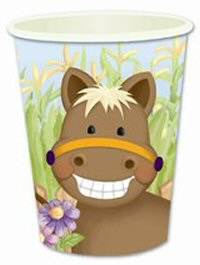 Pony Horse Party Cups
