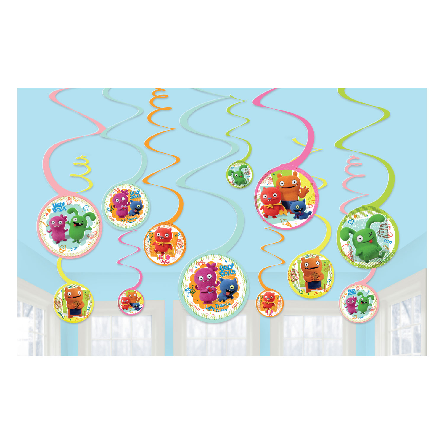 Ugly Dolls Party Swirls