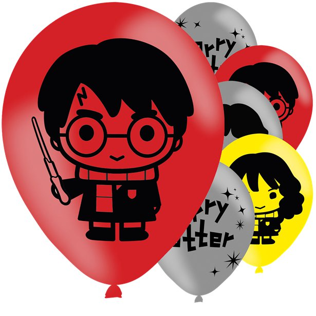 Harry Potter Hogwarts Party Balloons
