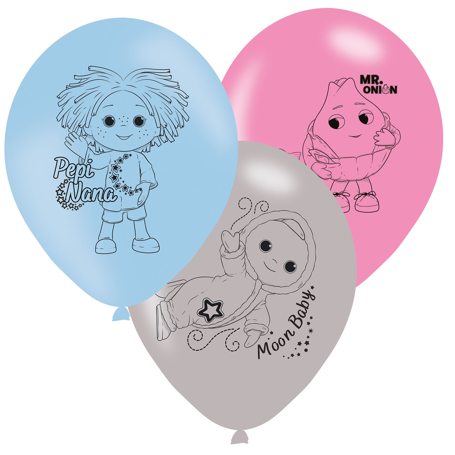 Moon And Me Party Balloons