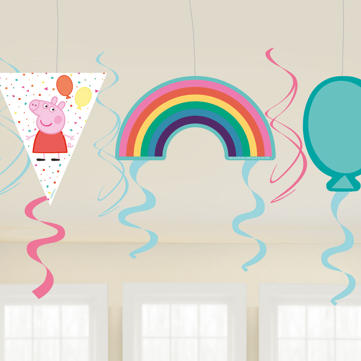 Peppa Pig Rainbow Party Swirls