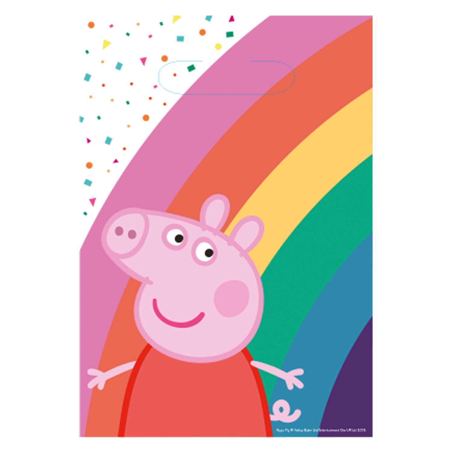 Peppa Pig Rainbow Party Bags