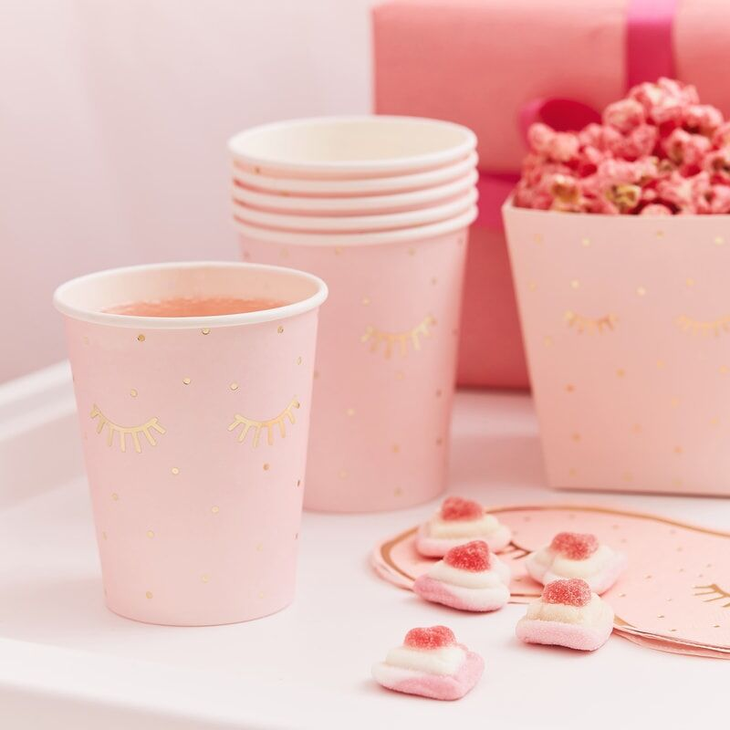 Pink Pamper Party Cups