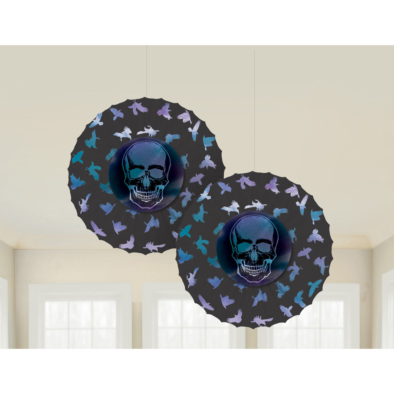 Boneshine Fever Paper Fan Decorations