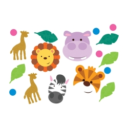 Jungle Friends Table Confetti Mix