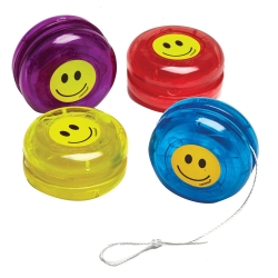 Smiley Face Yo Yo's