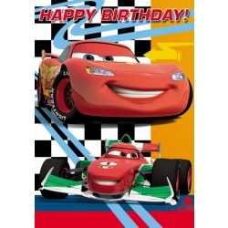 Cars Happy Birthday Cards