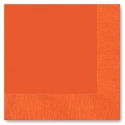 Orange Party Napkins