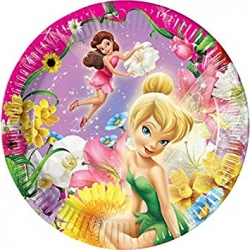 Tinkerbell Pink Party Plates