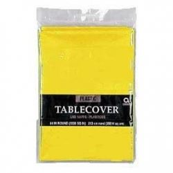 Yellow Party Tablecover