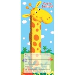 Jungle Buddies Party Invitations