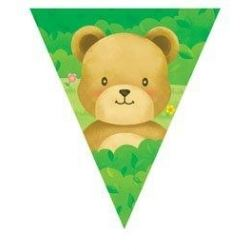 Teddy Bear  Party Flag Banner