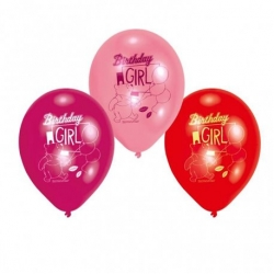 Winnie The Pooh & Friends Birthday Girl Party Balloons