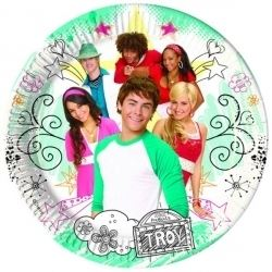 High School Musical  Party Plates