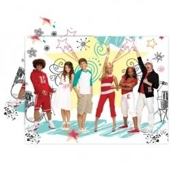 High School Musical 2 Party Tablecover