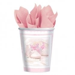 Tiny Blessings Girl Christening Party Cups