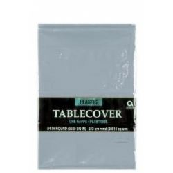 Silver Party Tablecover
